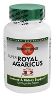 Mushroom Wisdom - Super Royal Agaricus with Maitake D Fraction - 120 Vegetarian Tablets Formerly Maitake Products by Mushroom Wisdom