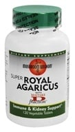 Mushroom Wisdom - Super Royal Agaricus with Maitake D Fraction - 120 Vegetarian Tablets Formerly Maitake Products