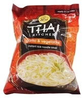 Thai Kitchen - Instant Rice Noodle Soup Garlic and Vegetable - 1.6 oz. by Thai Kitchen