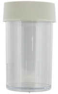 Image of Nalgene - Straight Side Wide Mouth Jar Clear - 8 oz. CLEARANCE PRICED
