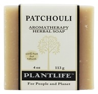Plantlife Natural Body Care - Aromatherapy Herbal Soap Patchouli - 4 oz., from category: Personal Care