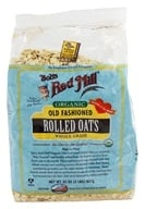 Bob's Red Mill - Rolled Oats Old Fashioned Organic - 32 oz., from category: Health Foods