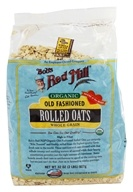 Bob's Red Mill - Rolled Oats Old Fashioned Organic - 32 oz. (039978019523)
