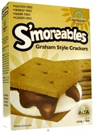 Kinnikinnick Foods - S'moreables Graham Style Crackers - 8 oz. by Kinnikinnick Foods
