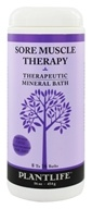 Image of Plantlife Natural Body Care - Therapeutic Mineral Bath Sore Muscle Therapy - 16 oz.