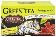 Celestial Seasonings - Green Tea Pomegranate - 20 Tea Bags (070734070730)