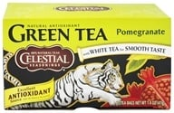 Celestial Seasonings - Green Tea Pomegranate - 20 Tea Bags