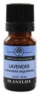 Image of Plantlife Natural Body Care - 100% Pure Essential Oil Lavender - 10 ml.