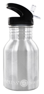Image of New Wave Enviro Products - Stainless Steel Water Bottle With Flip N' Sip Cap - 12 oz.