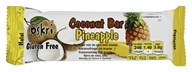 Oskri - Organic Coconut Bar Gluten-Free Pineapple - 1.86 oz.