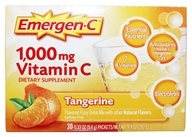 Image of Alacer - Emergen-C Vitamin C Energy Booster Tangerine 1000 mg. - 30 Packet(s)