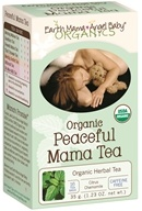 Earth Mama Angel Baby - Organic Peaceful Mama Tea - 16 Tea Bags by Earth Mama Angel Baby