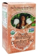 Earth Mama Angel Baby - Organic Monthly Comfort Tea Revitalizing Cinnamon Spice - 16 Tea Bags