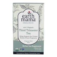 Earth Mama Angel Baby - Organic Third Trimester Tea - 16 Tea Bags by Earth Mama Angel Baby