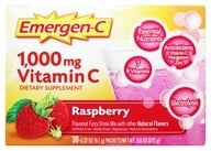 Alacer - Emergen-C Vitamin C Energy Booster Raspberry 1000 mg. - 30 Packet(s), from category: Vitamins & Minerals