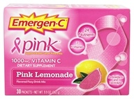 Alacer - Emergen-C Pink Vitamin C Energy Booster Pink Lemonade 1000 mg. - 30 Packet(s), from category: Vitamins & Minerals