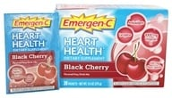 Alacer - Emergen-C Heart Health Powerful Antioxidant Formula Black Cherry 1000 mg. - 30 Packet(s) - $11.46