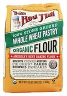 Image of Bob's Red Mill - Whole Wheat Pastry Flour Stone Ground Organic - 48 oz.
