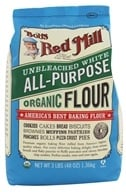 Image of Bob's Red Mill - White Flour Organic Unbromated Unbleached - 48 oz.