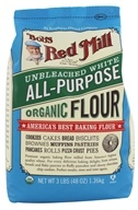 Bob's Red Mill - White Flour Organic Unbromated Unbleached - 48 oz. (039978019912)