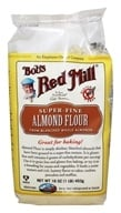Bob's Red Mill - Almond Meal/Flour Finely Ground Gluten Free - 16 oz. (039978013811)