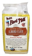 Image of Bob's Red Mill - Almond Meal/Flour Finely Ground Gluten Free - 16 oz.