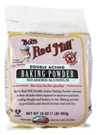 Bob's Red Mill - Baking Powder Double Aluminum Free Acting Gluten Free - 16 oz. (039978003928)