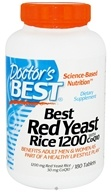 Doctor's Best - Best Red Yeast Rice with CoQ10 1200 mg. - 180 Tablets - $31.38