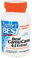 Doctor's Best - Best Camu Camu 4:1 Extract 400 mg. - 120 Vegetarian Capsules (753950001640)