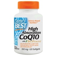 Image of Doctor's Best - High Absorption CoQ10 100 mg. - 120 Softgels