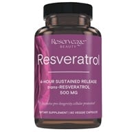 Image of ReserveAge Organics - Resveratrol 500 mg. - 60 Vegetarian Capsules DAILY DEAL