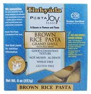Image of Tinkyada Pasta - Brown Rice Pasta Grand Shell With Rice Bran - 8 oz.