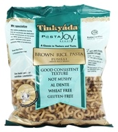 Tinkyada Pasta - Brown Rice Pasta Fusilli With Rice Bran - 16 oz., from category: Health Foods