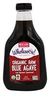 Wholesome Sweeteners - Organic Raw Blue Agave - 44 oz. (012511214425)