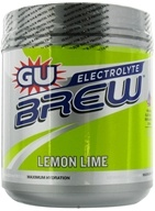 GU Energy - GU Electrolyte Brew Canister Lemon Lime - 910 Grams by GU Energy