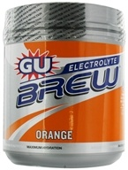 GU Energy - GU Electrolyte Brew Canister Orange - 910 Grams by GU Energy