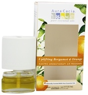 Aura Cacia - Aromatherapy Diffuser Uplifting Bergamot & Orange - 0.5 oz., from category: Aromatherapy