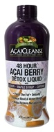 Image of Garden Greens - AcaiCleanse 48 Hour Acai Berry Detox Liquid with Lemon Maple Syrup & Cayenne - 32 oz.
