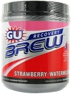 GU Energy - GU Recovery Brew Canister Strawberry Watermelon - 840 Grams (769493501363)