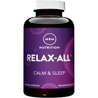 MRM - Relax-All with Phenibut - 60 Capsules, from category: Nutritional Supplements