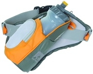 Nathan - Elite 1 Bottle Hydration Pak Grey/Silver/Orange