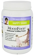 Natural Factors - WomenSense MoodFood Happy Shake Suntheanine & Whey Protein Chocolate - 16 oz.
