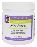 Natural Factors - WomenSense MagSense Muscle Support Magnesium Glycinate Formula - 7 oz.