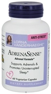 Natural Factors - AdrenaSense Anti-Stress Adrenal Formula - 60 Vegetarian Capsules (068958049410)