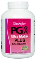 Natural Factors - SlimStyles PGX Ultra Matrix Plus Smooth Digest 820 mg. - 120 Softgels