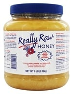 Really Raw Honey - Really Raw Honey Unprocessed Pesticide Free Honey - 5 lbs. (2.26kg), from category: Health Foods