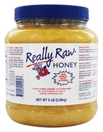 Really Raw Honey - Really Raw Honey Unprocessed Pesticide Free Honey - 5 lbs. (2.26kg) by Really Raw Honey