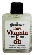 Image of Cococare - 100% Vitamin E Oil 14000 IU - 0.5 oz.