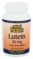 Luteína 20 mg. - 120 Softgels by Natural Factors