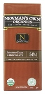 Newman's Own Organics - Espresso Dark Chocolate 54% Cocoa - 3.25 oz.
